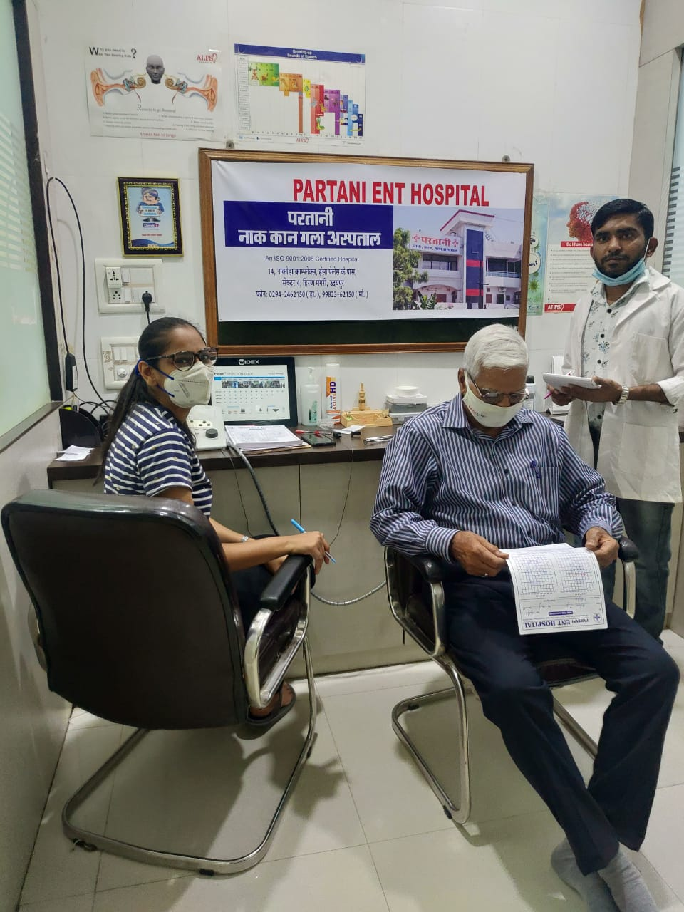 Ear Checkup Camp at Partani ENT CLinic