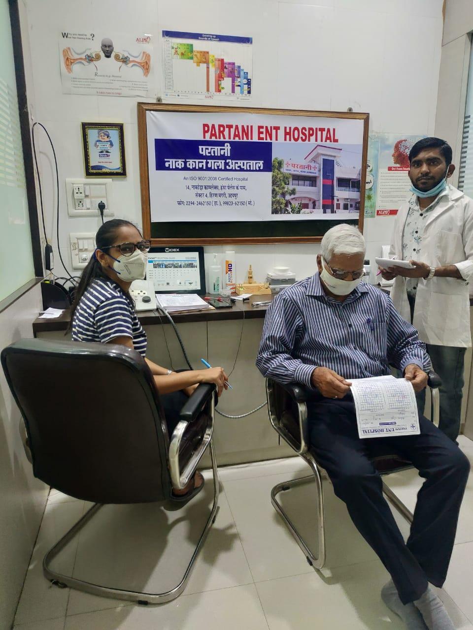 Ear Checkup Camp at Partani ENT CLinic